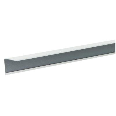 Donn 12 Ft. x 7/8 in. White Steel Ceiling Wall Molding