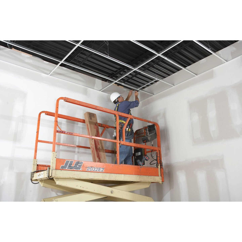 Donn 4 Ft. x 1-1/2 In. White Steel Fire Resistant Ceiling Tile Cross Tee Image 4