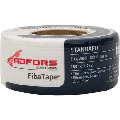 FibaTape 1-7/8 In. x 150 Ft. White Self-Adhesive Joint Drywall Tape