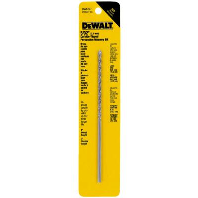 DeWalt 5/32 In. x 6 In. Masonry Drill Bit