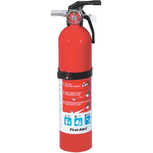 First Alert 1-A:10-B:C Rechargeable Home Fire Extinguisher