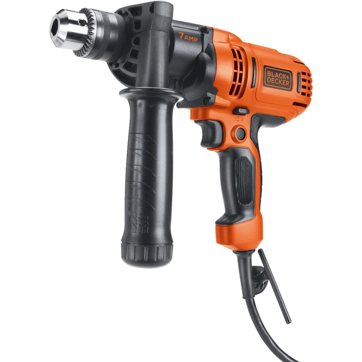 Black & Decker 1/2 In. 7-Amp Keyed Electric Drill/Driver Image 1