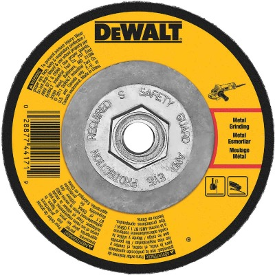 DeWalt HP Type 27 4-1/2 In. x 1/8 In. x 5/8 In.-11 Metal Grinding Cut-Off Wheel