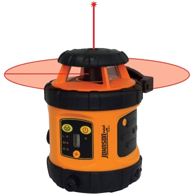 Johnson Level 800 Ft. Self-Leveling Rotary Laser Level