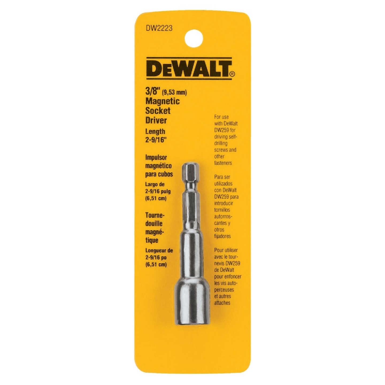 DeWalt 3/8 In. x 2-9/16 In. Magnetic Nutdriver Bit Image 1