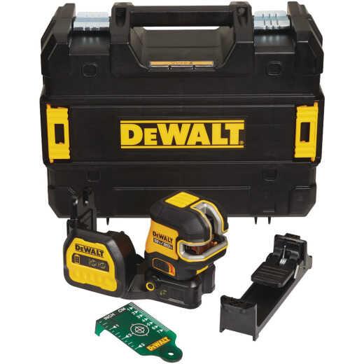 DeWalt 12V/20V MAX Cordless Green Cross Line 5-Spot Laser Level (Tool-Only)