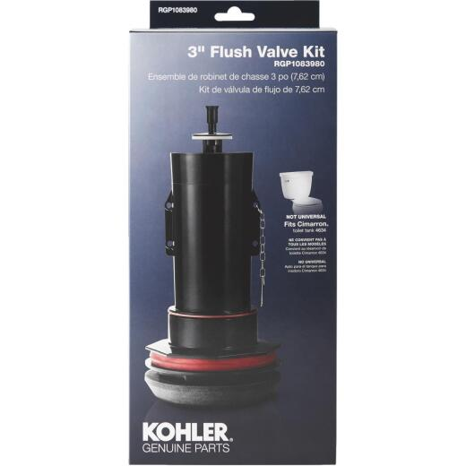 Kohler 3 In. Toilet Canister Flush Valve Repair Kit for Cimarron K-4634 Toilets