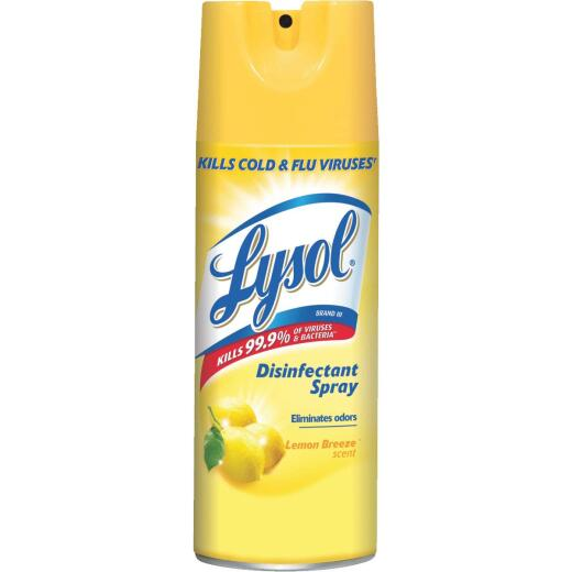 Lysol 12.5 Oz. Lemon Breeze Disinfectant Spray