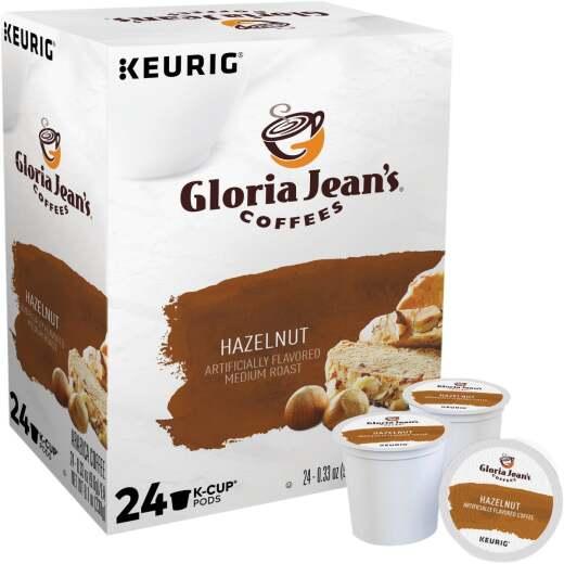 Keurig Gloria Jeans Coffees Hazelnut K-Cup (24-Pack)