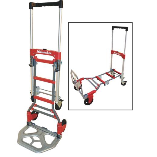 Milwaukee 300 Lb. Capacity 2-In-1 Hand Truck