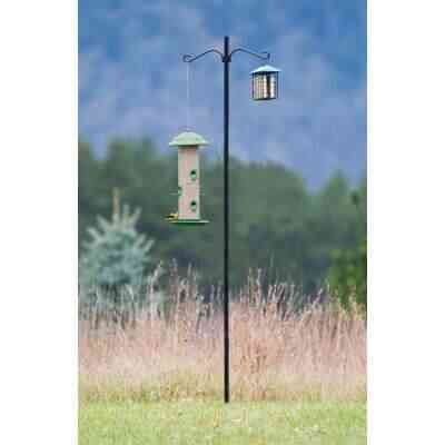 More Birds 6.5 Ft. Steel Bird Feeder Pole Kit