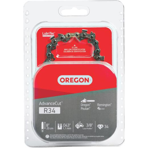 Oregon R34 8 In. Chainsaw Chain