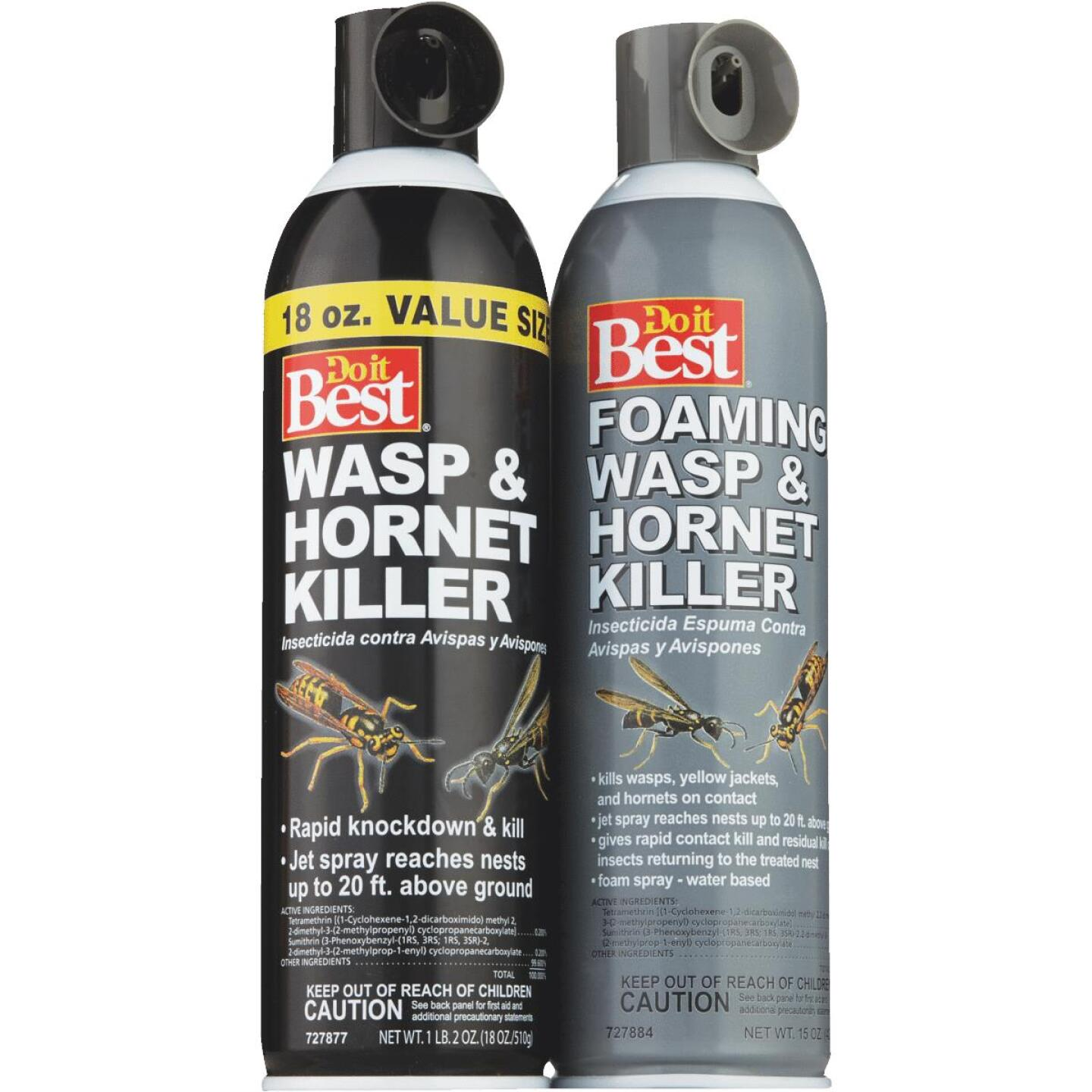 Do it Best 17.5 Oz. Liquid Aerosol Spray Wasp & Hornet Killer Image 2