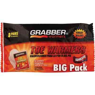 Grabber One Size Fits All Toe Warmer (8-Pack)