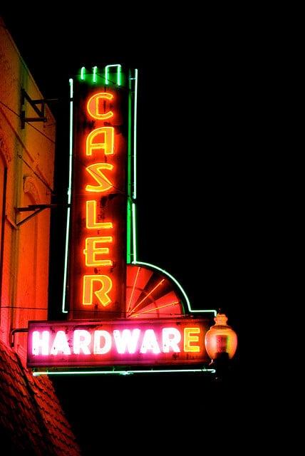 Casler store sign